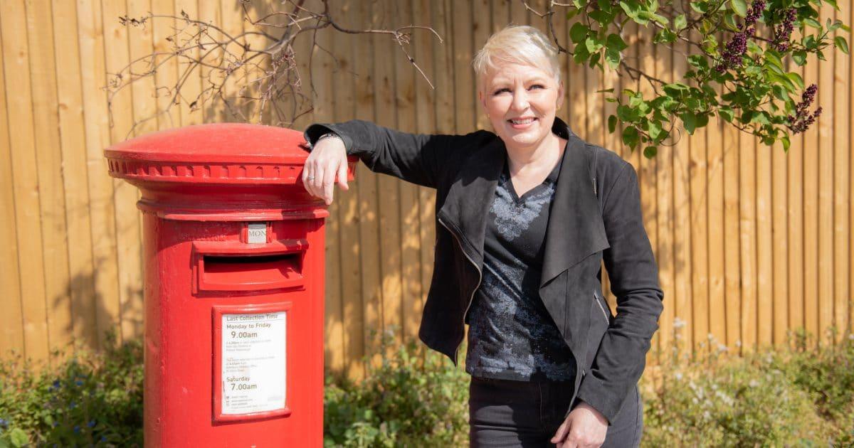 postbox Christine Nicholson